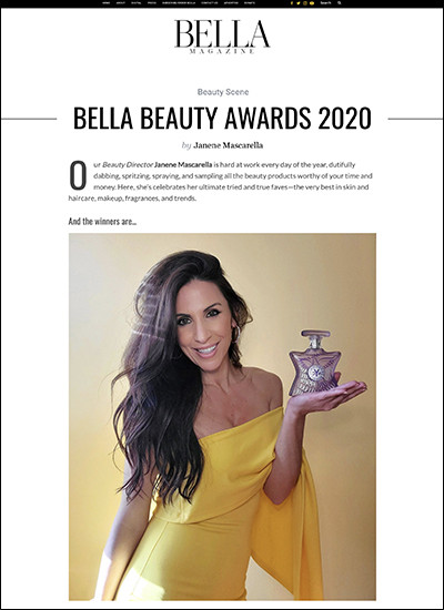 bella beauty awards 2020